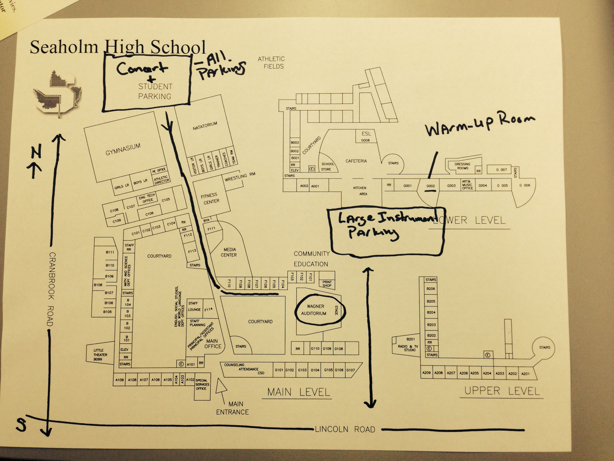 utica high, everett high, west bloomfield high, on seaholm high map